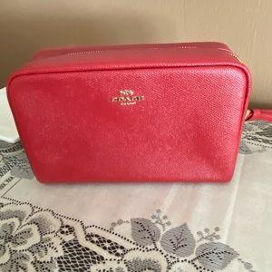 Red makeup 💄 bag